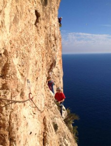 Sport climbing Calpe with Solihull Mouintaineering Club