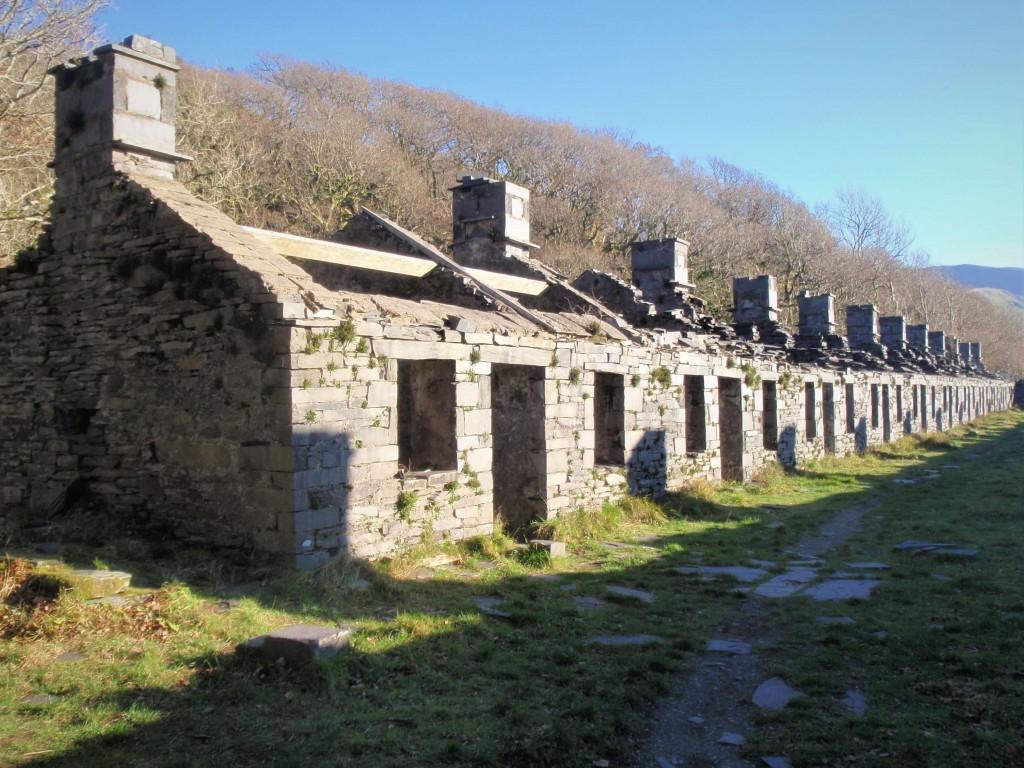 C Vivian Quarry workers cottages.